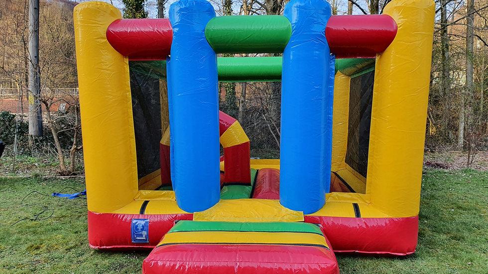 Multi-colour 13ft x 11ft (4m x 3.3m) activity bouncer