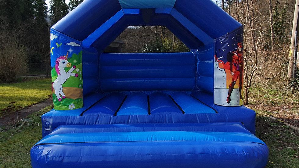 Please Everyone multi-theme 12ft x 12ft A-frame bouncy castle