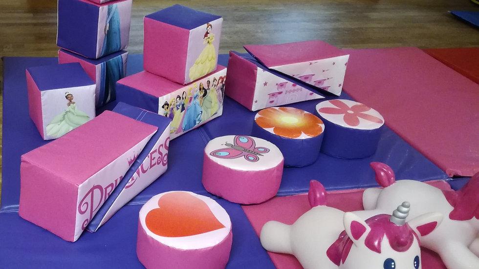Mini soft play set - princess