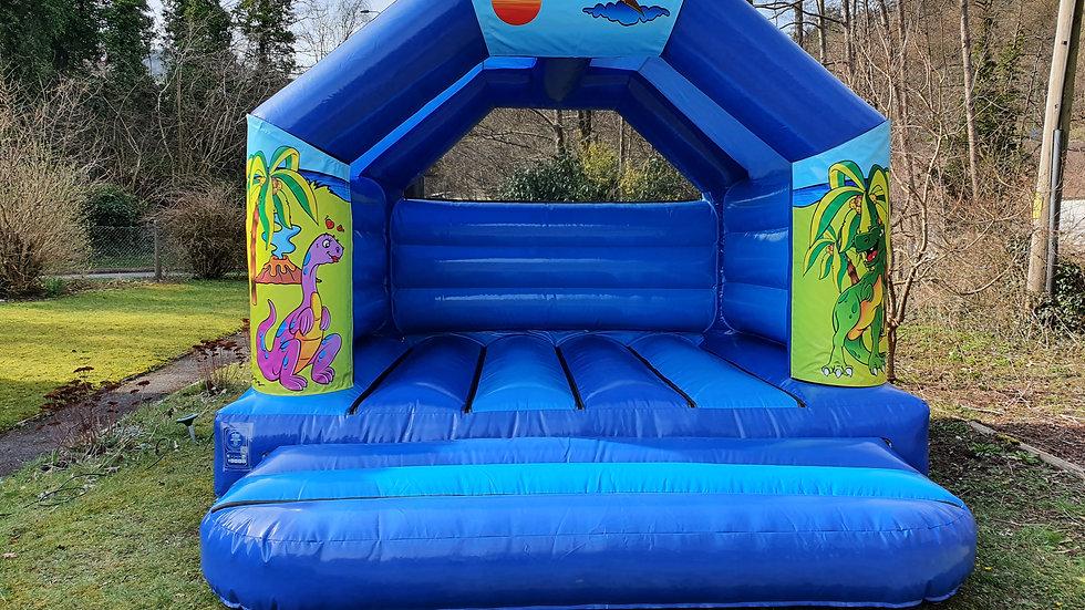 Dinosaur theme 12ft x 12ft A-frame bouncy castle