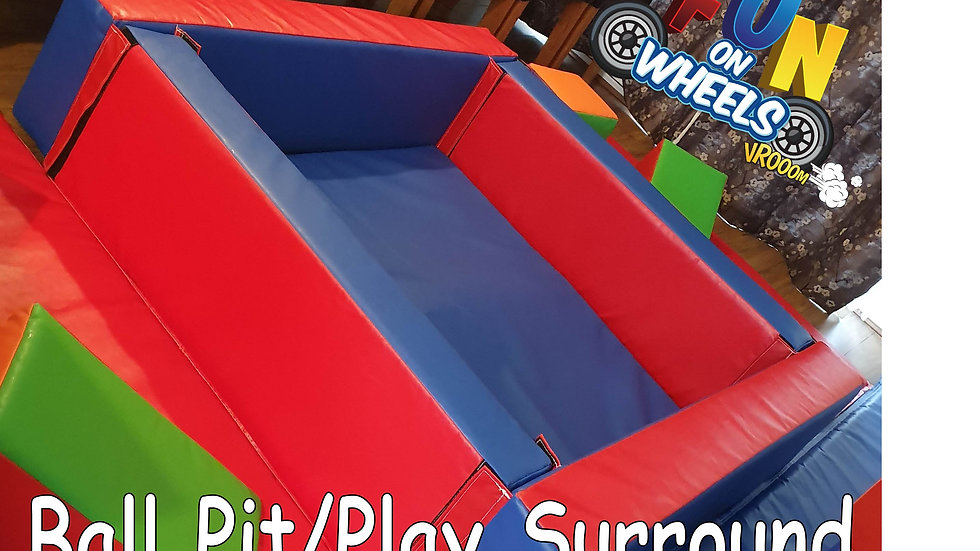 Plain ball pit/play surround