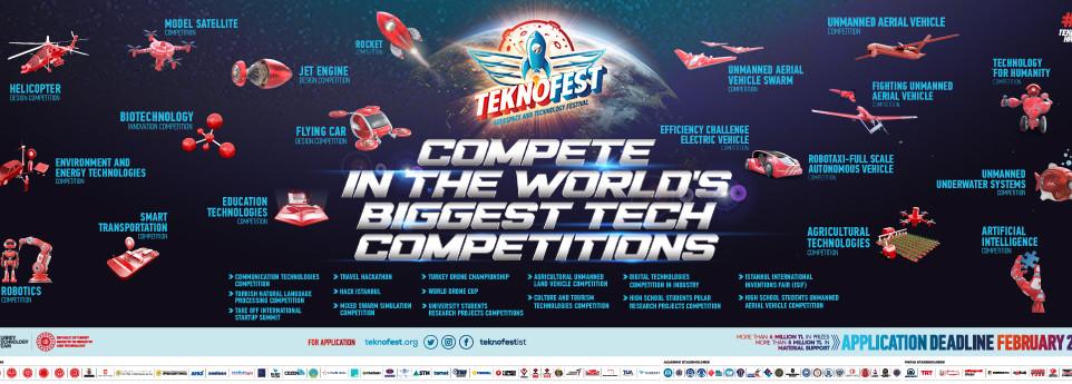 Добро пожаловать на Международный фестиваль TEKNOFEST в Стамбуле (Турция)