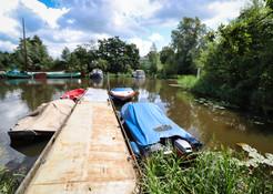 Camping Husternoard in Oudwoude Friesland aan het water