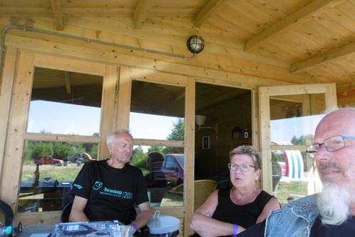 Camping Husternoard Oudwoude (Friesland) met blokhutten