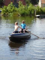 Camping Husternoard in Oudwoude Friesland met haven