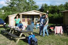 Camping Husternoard Oudwoude (Friesland) Blokhutten