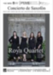 2019-04-29 Afiches Roya Quartet Necochea