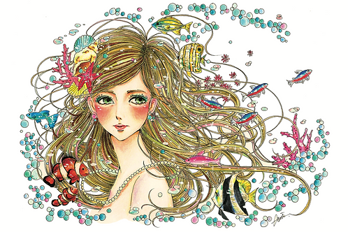 Ami オリジナルポストカード5枚セット