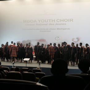 Premier concert du MBOA YOUTH CHOIR