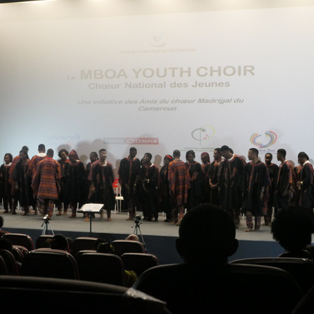 Premier concert du MBOA YOUTH CHOIR