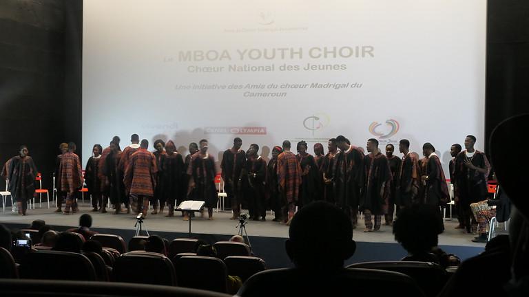 Concert du Mboa Youth Choir