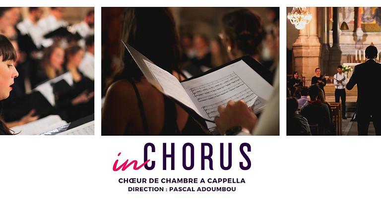 Concert du chœur de chambre InChorus