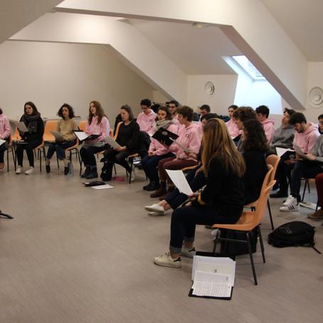 Weekend du Chœur National des Jeunes (CNJ) à Montrouge
