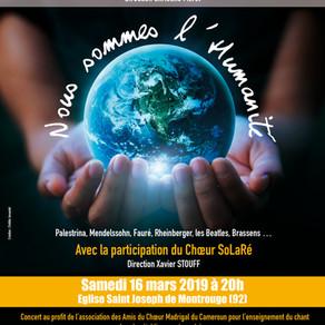 Le Chœur National des Jeunes « A Cœur Joie ! » à Montrouge