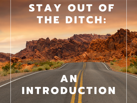 Stay Out Of The Ditch: An Introduction