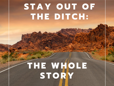 Stay Out Of The Ditch: The Whole Story