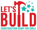 LET'S BUILD Logo - Basic 2021 (blue camp