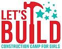 LET'S BUILD Logo - Basic 2021 (blue camp