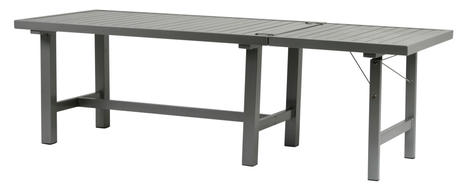 Tillsatsskiva grå aluminium