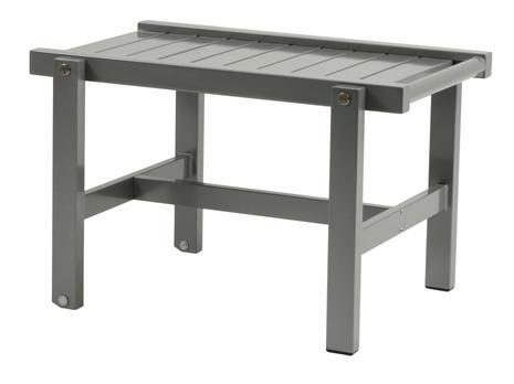 Rullbord grå aluminium