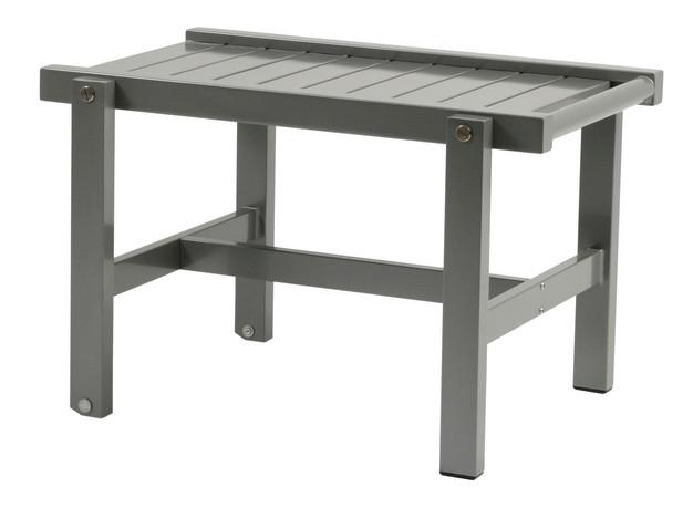 Grå aluminium rullbord