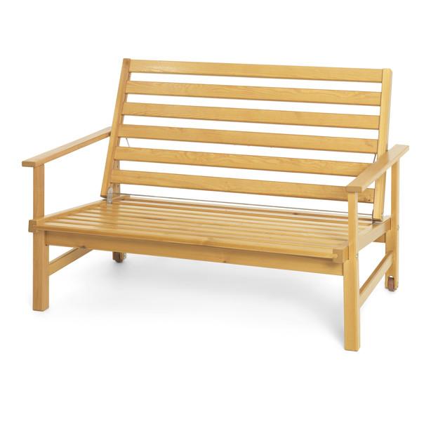 Classic furu 2-sits soffa