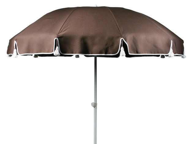 Parasoll brun