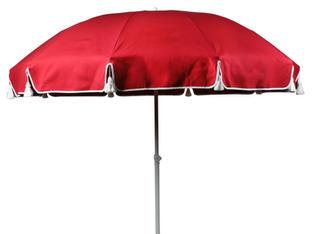 Parasoll röd