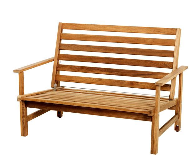 Teak 2-sits soffa