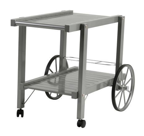 Vagn grå aluminium