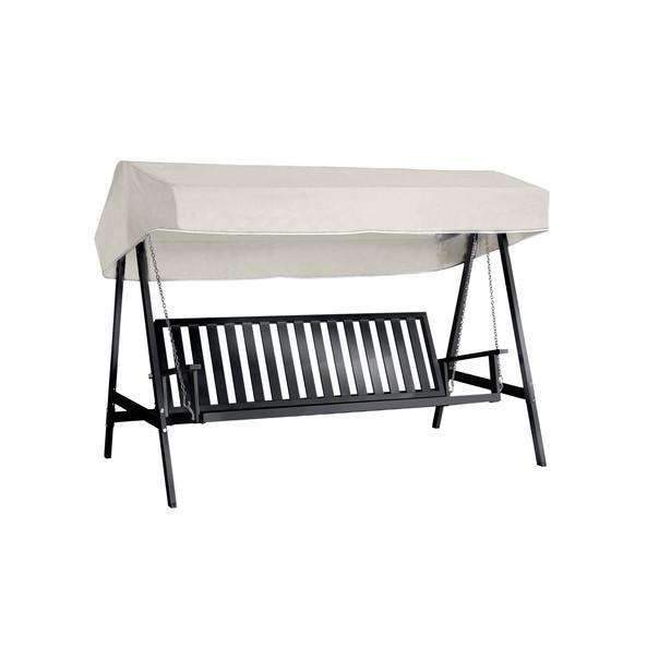 Svart aluminium hammock