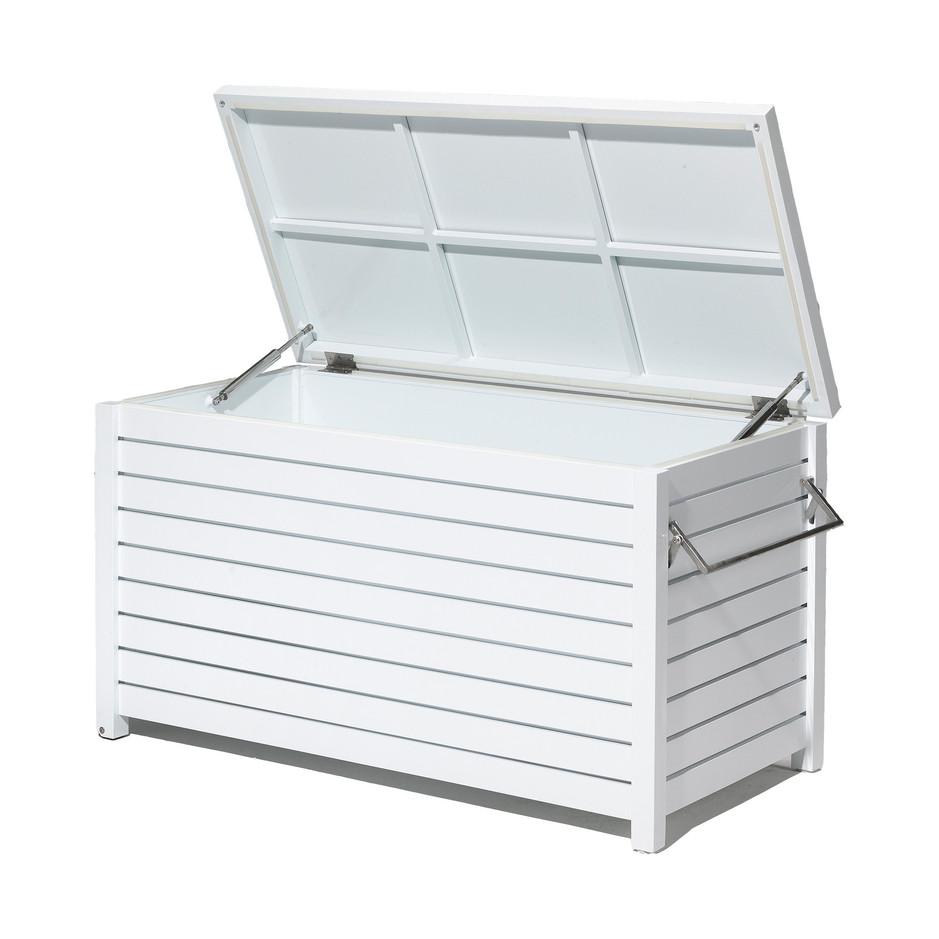 Dynbox vit aluminium