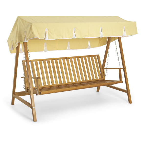 Teak hammock