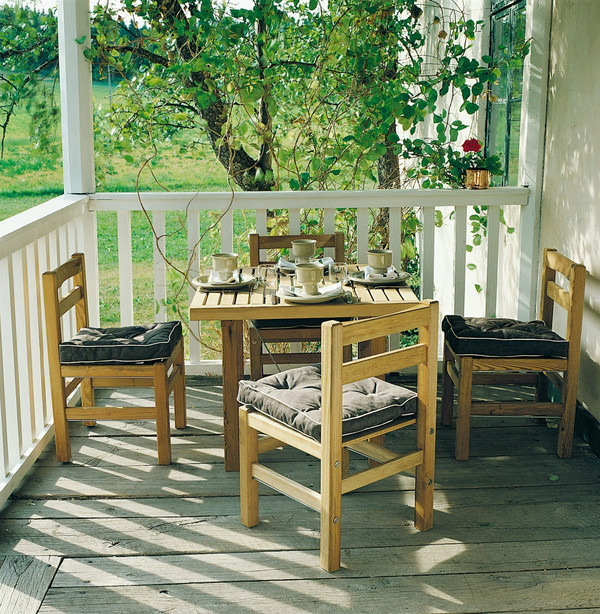 Classic furu stol - Bild 3