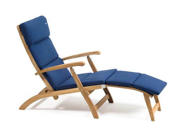 inout form Deckchair Blå dyna