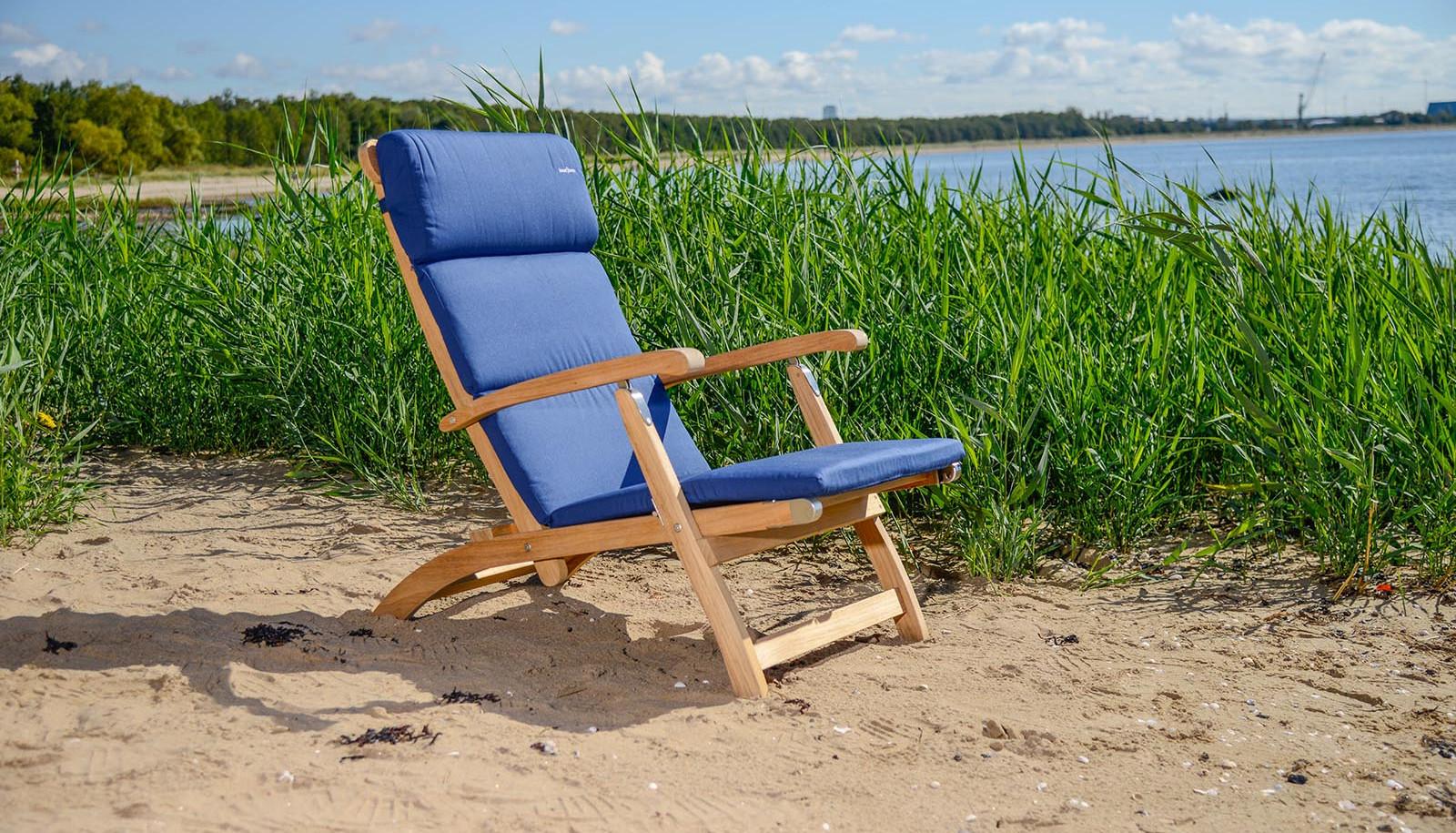 inout form Deckchair Blå dyna 2