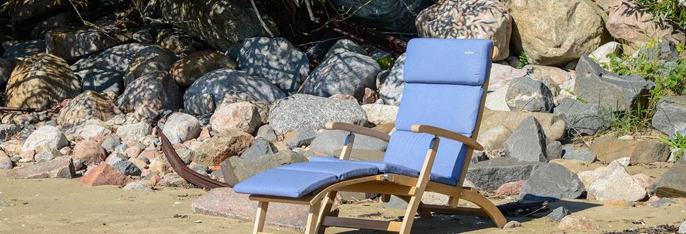 inout form Deckchair Ljusblå dyna 4