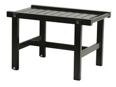 Rullbord svart aluminium