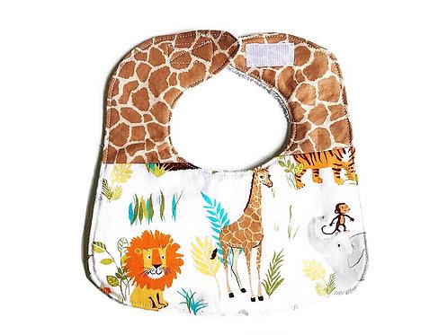 Baby Bib Jungle Animals