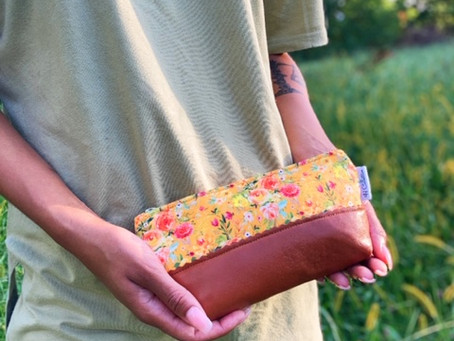 Beauty Trends Leather Cosmetic Bags