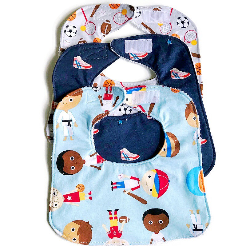 Bibs for Baby Boy - Sports Kids