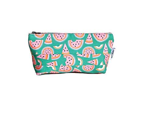 makeup pouch- watermelon print