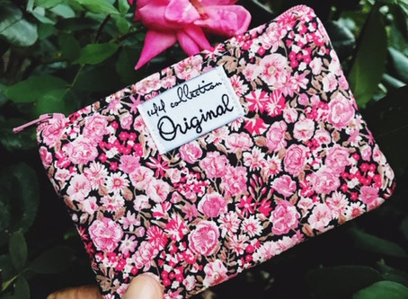 Change Is Good With This Pink Peony Coin Purse