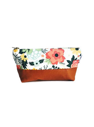 Leather-pouch-brown-and-white-floral-pri