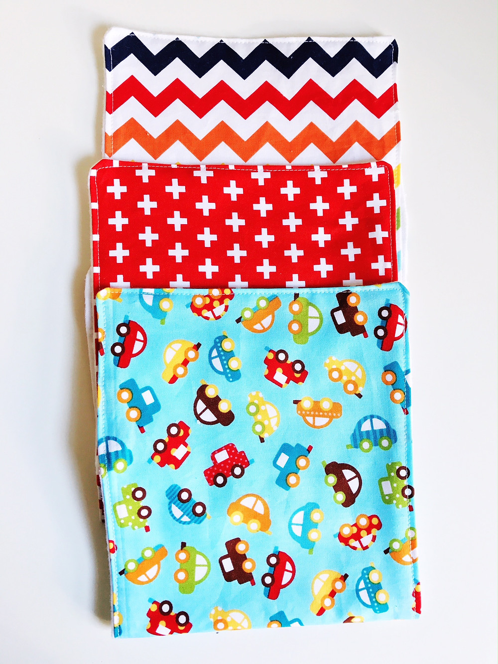 Honk Baby Boy Burp Cloth Set Handmade