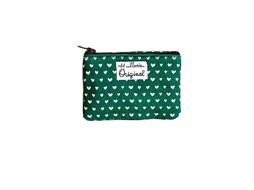 green hearts change purse