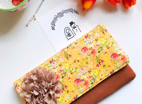 Floral Clutch Bags for Weddings