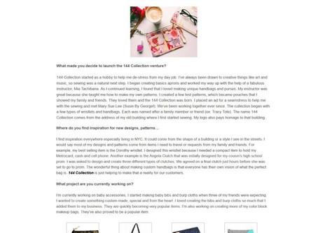 Custom Handmade Handbags: Stitch by Stitch Interview with Keenobby.com