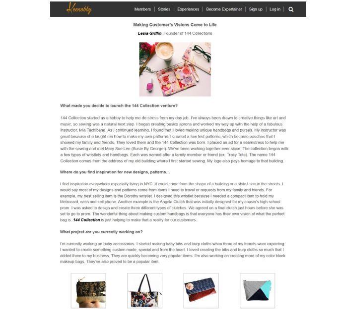 Custom Handmade Handbags