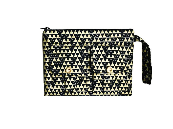Galentines Day Gifts - Triangle Wristlet